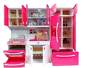 Buy Hobnot Modern Kitchen Toy Princess Set For Your Baby Girl