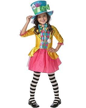 Rubies s oficial de Disney Alicia en el país de las maravillas Mad Hatter  disfraz niñas 087f202de4b8