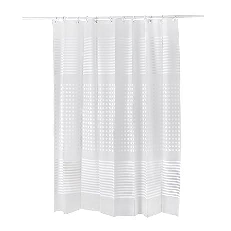 Healfit Heavy Dudy PEVA Shower Curtain Liner Waterproof Non Toxic,  Eco Friendly, No