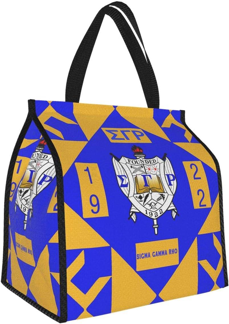 Sigma Gamma Rho Canvas Bag
