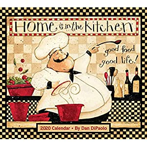 Best Home Kitchen Deluxe Wall Calendar India 2021