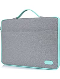 ProCase 12 - 12.9 Inch Sleeve Cover Case for Surface Pro 4 3 2, Macbook / iPad Pro Tablet, Portable Carrying Bag with Handle for 11 11.6 12 Inch Chromebook Ultrabook Notebook Laptop(Light Grey)