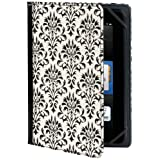 "Verso ""Versailles"" Standing Cover for Kindle Fire HD 7"", Black and White (will only fit Kindle Fire HD 7"")"