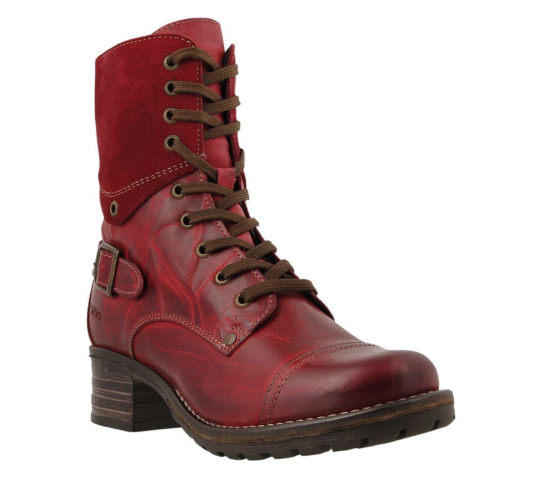 Taos Women's Crave Boot B00WKADDPM 39 EU/8-8.5 M US|Red