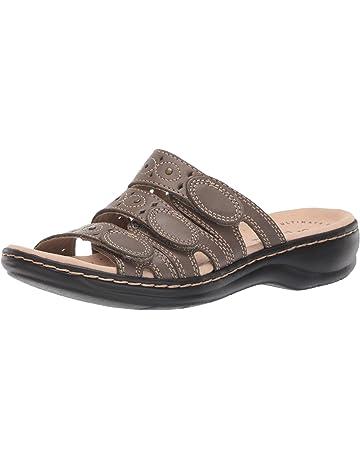 2cfaa0a0f Clarks Women's Leisa Cacti Slide Sandal