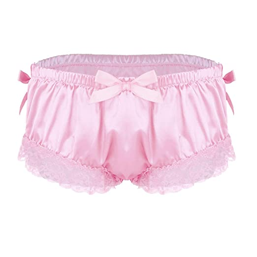 Remarkable, valuable sissy frilly satin panty thanks for