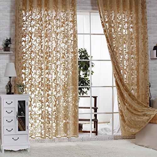 Rlang Gardinen Wohnzimmer Mit Kräuselband Oben Vorhang Braun Hxb