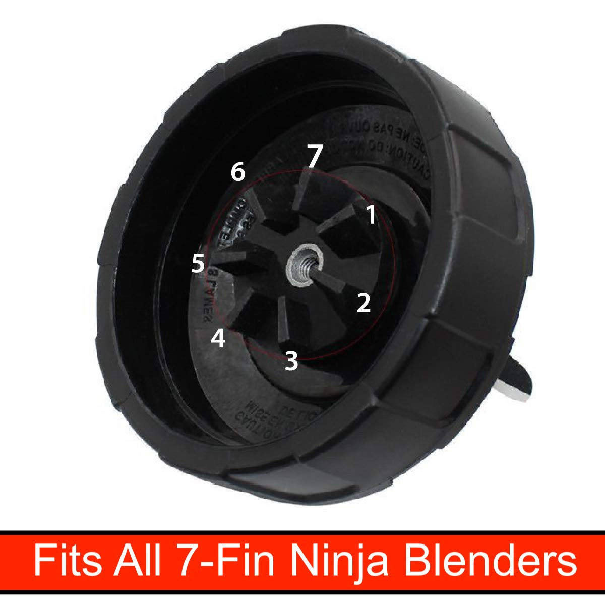 32oz Cup Replacement for Nutri Ninja Blenders 1, 32oz Cup Large Blender Cups Compatible with Auto IQ and Duo Blenders