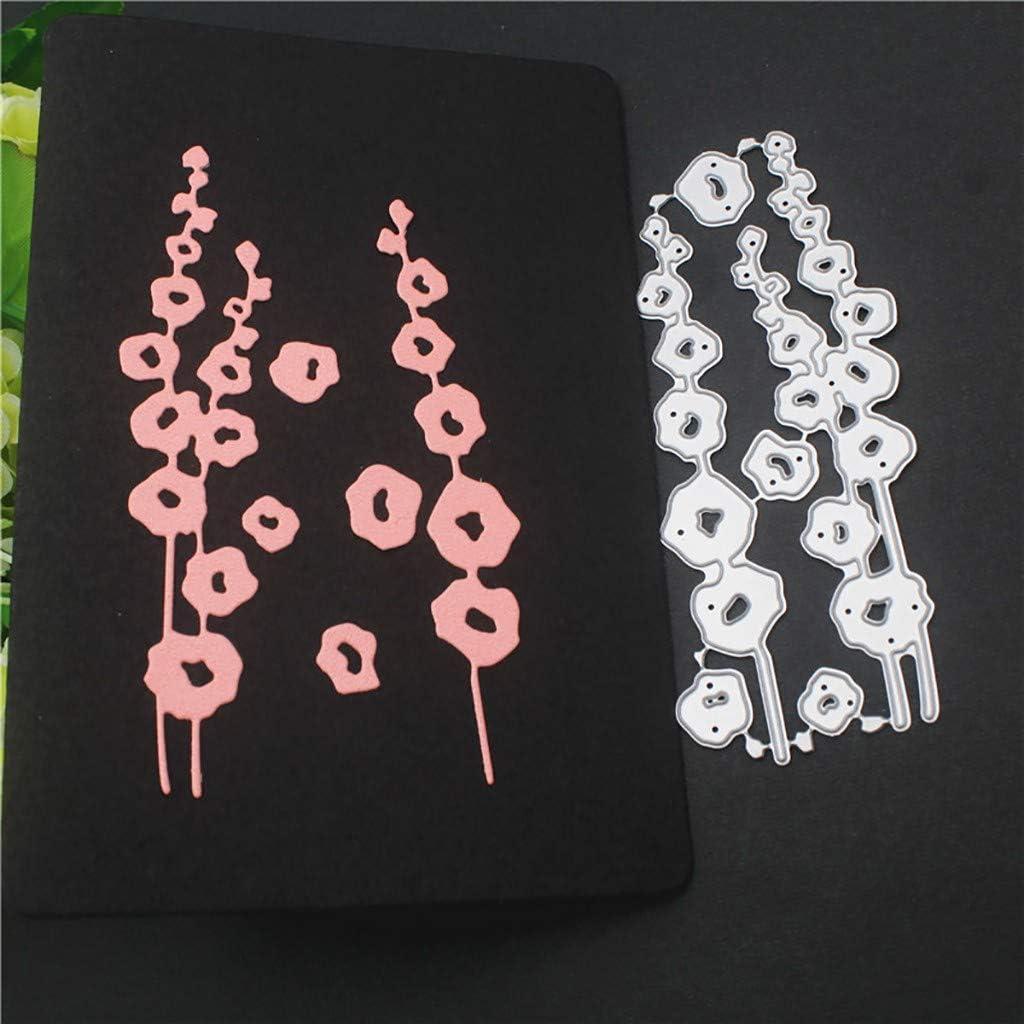 Rameng Matrice D/écoupe Fleur Pochoirs de Coupe en M/étal pour Scrapbooking Cutting Dies D/écoration Papier Carte Craft DIY