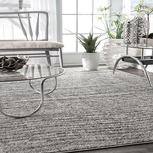 8 Grey Sherill Area Rug, 5' x 8', Grey ()