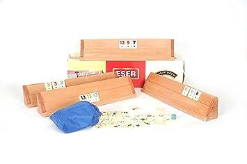 Okey Board Game Wooden Set