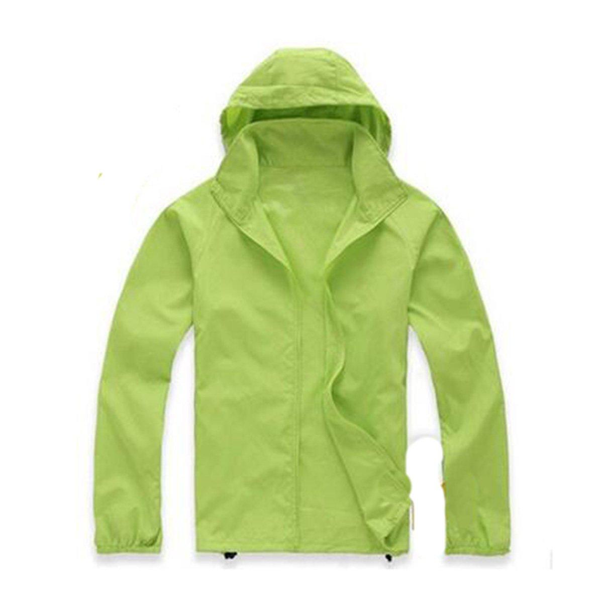 Shuang Yu Zuo Outdoor Skin Kleidung Dünne Sektion Sonnenschutz Wasserdichte Hooded Windbreaker Overalls