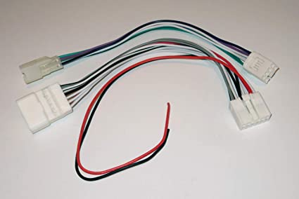 amazon.com: wire harness compatible with 1987-2018 toyota and 2016+ subaru  (used for amplifier or subwoofer installation): car electronics  amazon.com
