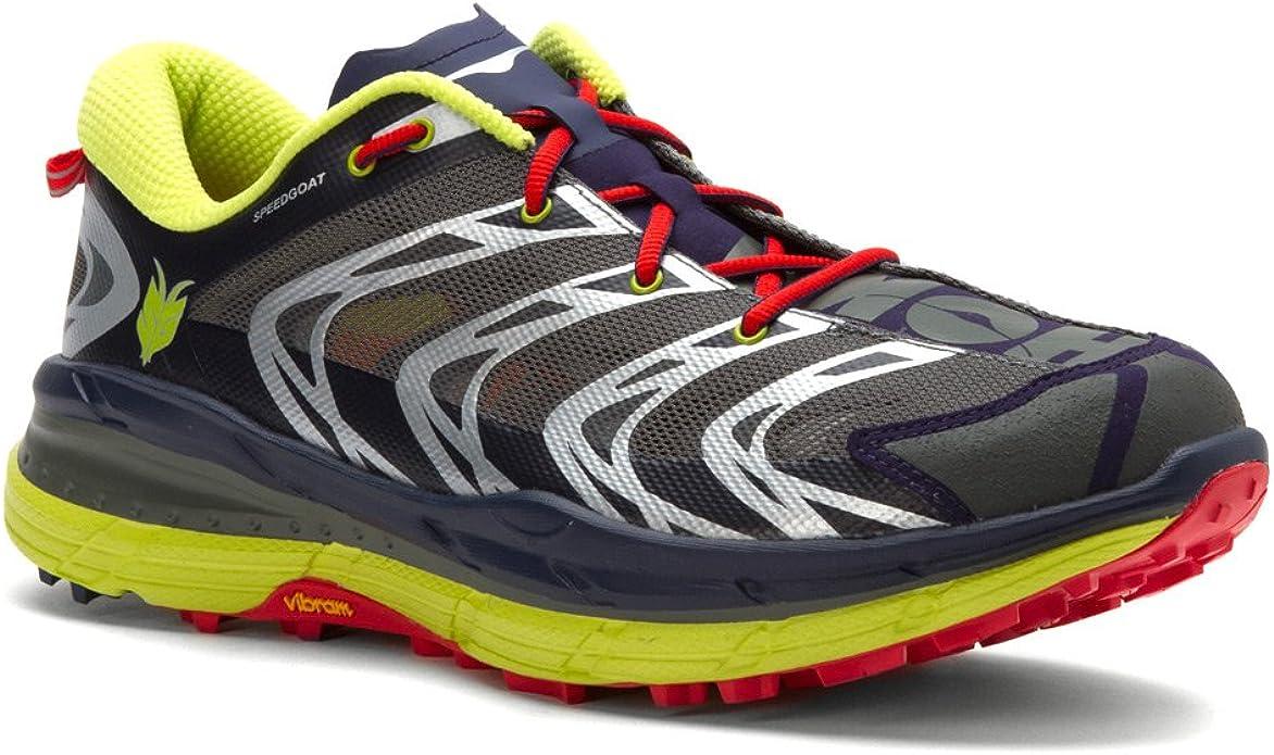 Zapatilla para hombre Hoka One Speedgoat, negro (Astra Aura/Acid), 7,5 D(M) US: Amazon.es: Zapatos y complementos