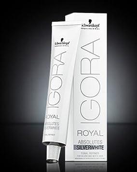 schwarzkopf igora royal coloration ton gris acier 60 ml - Coloration Gris Acier