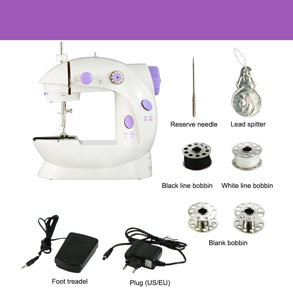 Nähmaschine Mini tragbare nähmaschine elektrische Haushalt Nähmaschine nähmaschine klein nähmaschine für kinder
