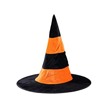 3d171f5d26f Buy Amosfun Wizard Hats Bee s Tail Shape Witch Hat Party Hat Halloween  Costumes Halloween Party Props Cosplay Costume Accessories for Children  Adult Online ...