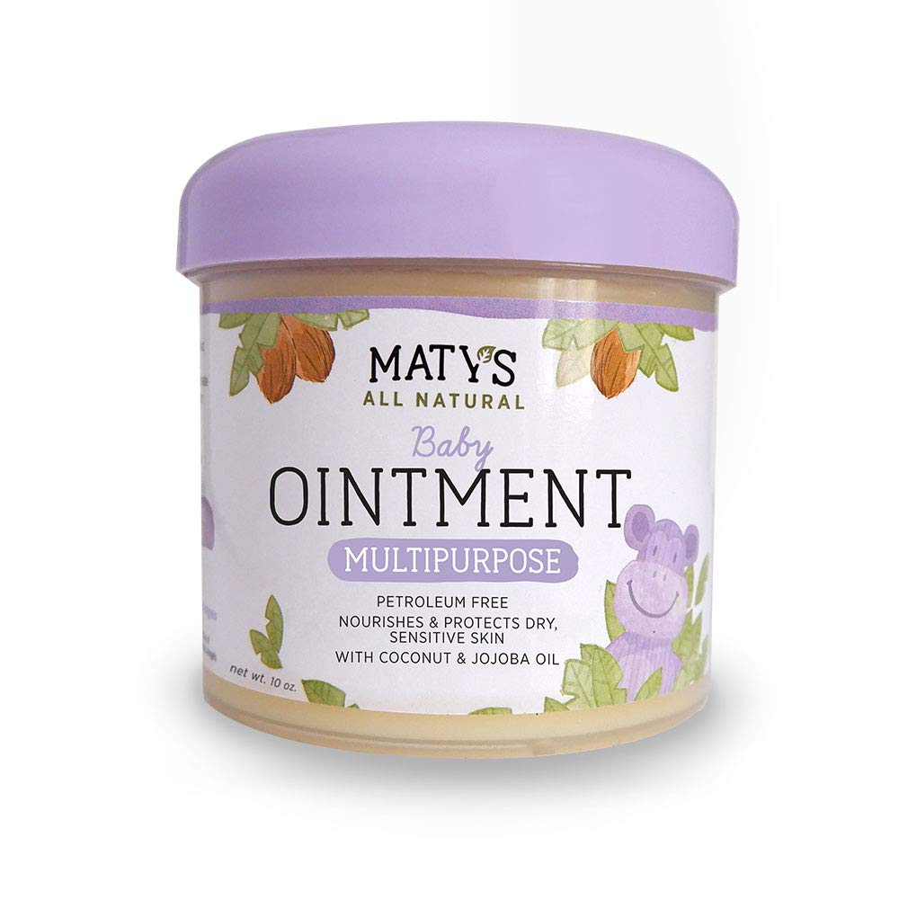 Maty's All Natural Baby Ointment 10 oz. Petroleum-Free Multipurpose by Matys