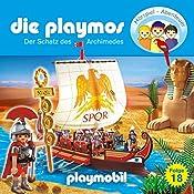 Der Schatz des Archimedes (Die Playmos 18) | Simon X. Rost, Florian Fickel