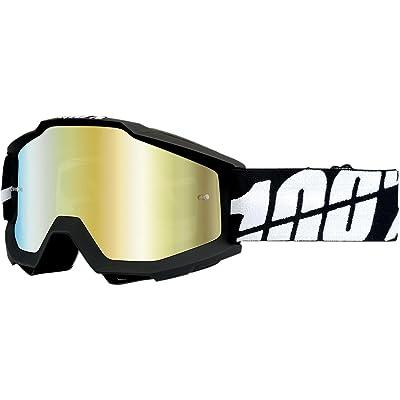 100% Accuri Masque Black Tornado Ecran Miroir Or