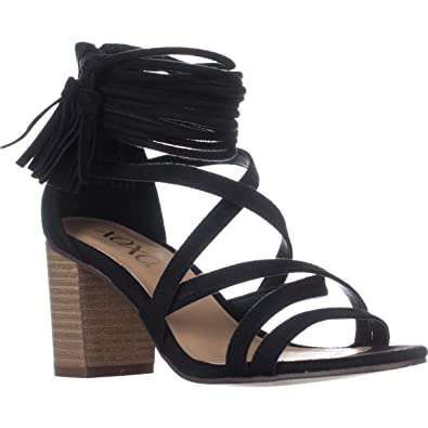 9564906f5 XOXO Elle Block-Heel Ankle-Strap Sandals