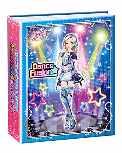 Data Card Dass Aikatsu! Official Binder Dance Fusion & Loli Gothic by Bandai