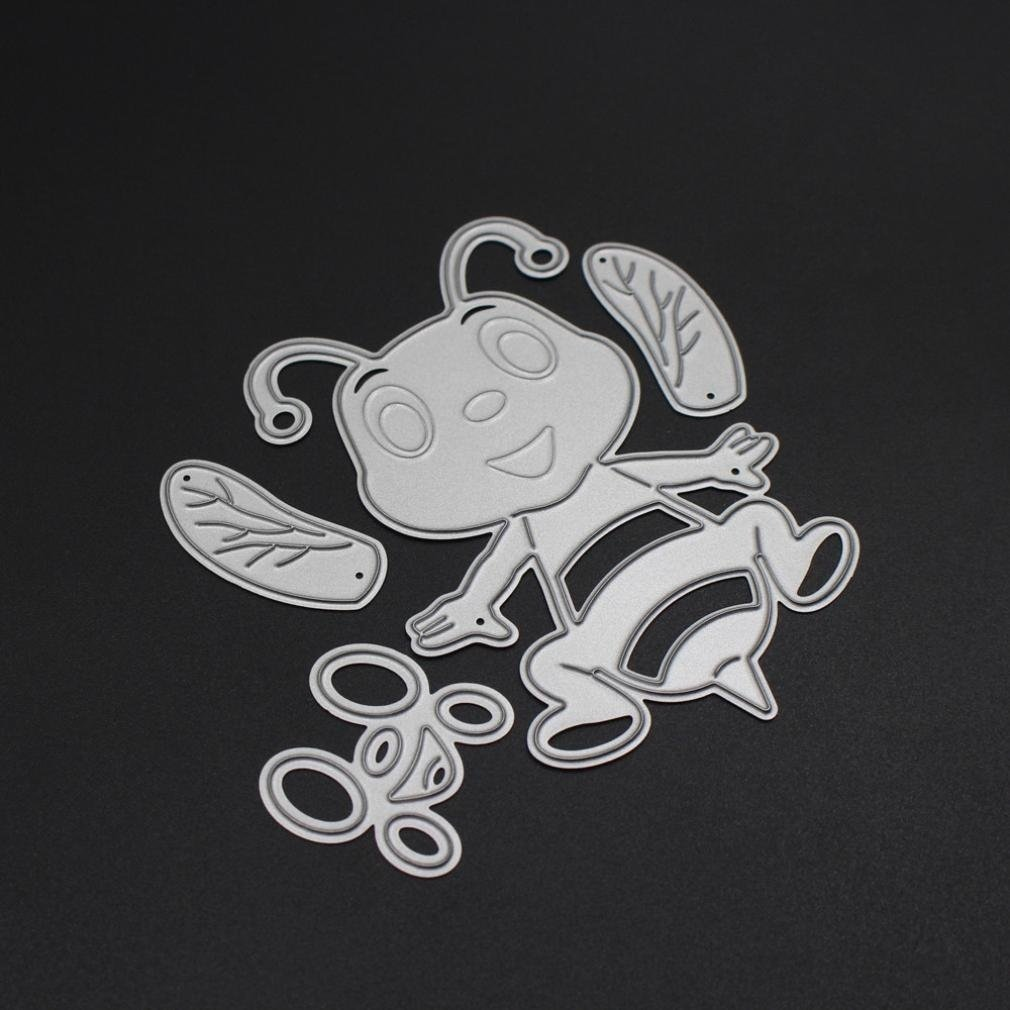 A 2019 Tranquility Metal Die Cutting Dies Handmade Stencils Template Embossing for Card Scrapbooking Craft Paper Decor by E-Scenery