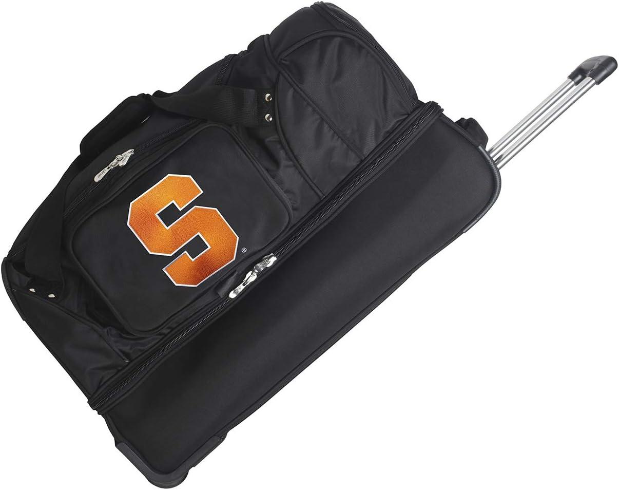 NCAA Syracuse Orange Rolling Drop-Bottom Duffel Bag 27-inches