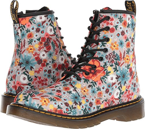 Dr. Martens - Girls 1460 Wanderflower Y Youth Lace Boot, Size: 6 M US Big Kid / 5 F(M) UK Youth, Color: Taupe Wander T -