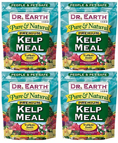 Dr. Earth 725 Kelp Meal 1-0. 5-2 2.5 Boxed, 2-Pound (Вundlе оf Fоur) by Dr. Earth (Image #1)