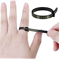 Ring Sizer Measuring Set Reusable Finger Size Gauge Measure Tool Jewelry Sizing Tools 1-17 USA Rings Size