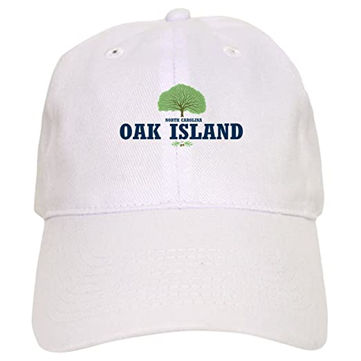 82f3d9a3cf72d4 Amazon.com: CafePress Oak Island NC - Baseball Cap with Adjustable Closure,  Unique Printed Baseball Hat: Clothing