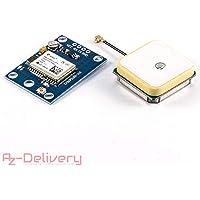 AZDelivery ⭐⭐⭐⭐⭐ NEO-6M GPS Modul baugleich zu Ublox/u-blox mit GRATIS EBOOK!