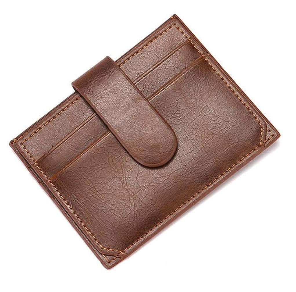 Youngate Bifold Wallet for Men Slim Front Pocket RFID Blocking Minimalist Wallet