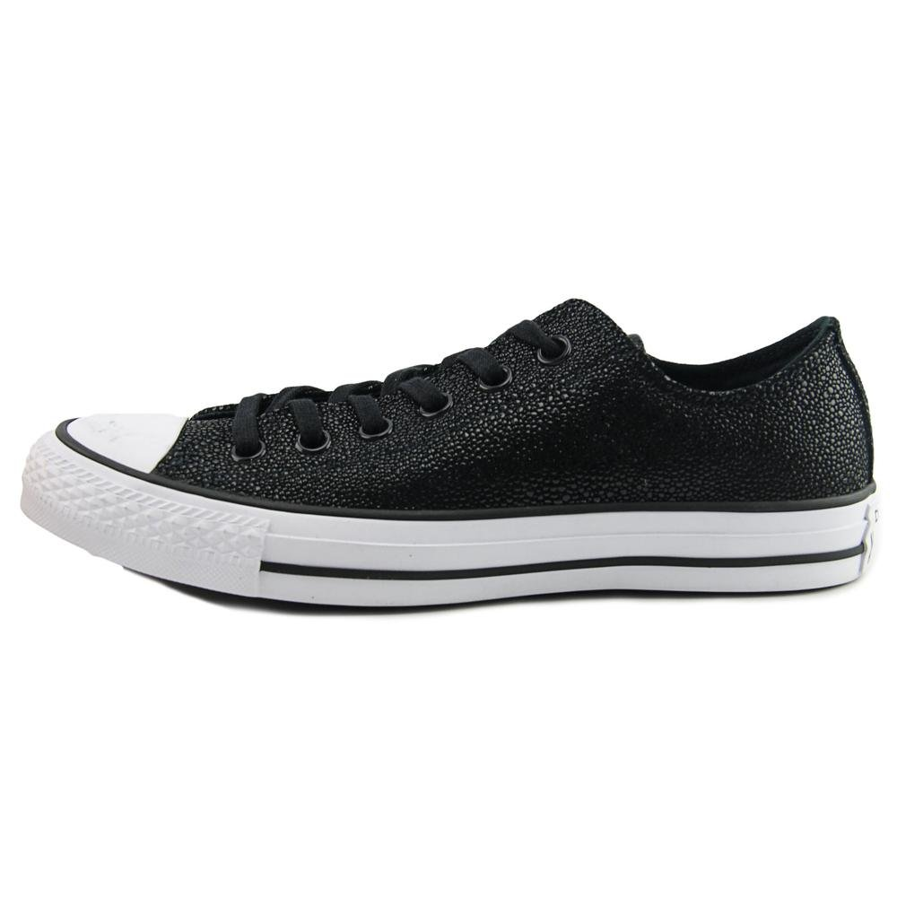 Converse Chucks 553349C CT AS Sting Ray Cuir Noir Noir Blanc, Black White, 36,5