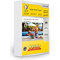 MR.R Inkjet Photo Paper Single Side High Glossy 200gsm 4R Size 4''X6'' With 100 Sheets Per Pack