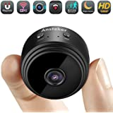 Mini WiFi Camera,Ansteker 1080P Hidden Camera Wireless Portable Home Security Small Cameras/Nanny Cam with Motion Detection/Night Vision