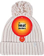 Heat Holders Arden Thermal Textured Twist Thermal Pom Pom Beanie Hat