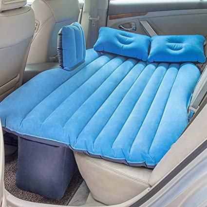 Coche Inflable Cama Hinchable Camping Asiento Trasero Extended ...