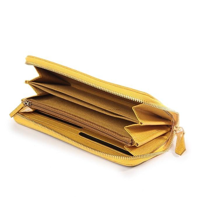 528ba922921ad Fendi Damen Geldbörse Portemonnaie Echtleder Geldbeutel Bifold zucca Braun   Amazon.de  Schuhe   Handtaschen