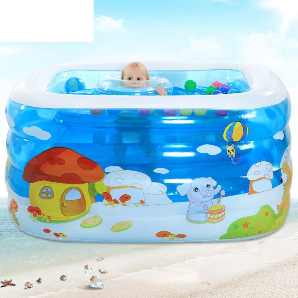 baby schwimmbad xl familie baby planschbecken kinder aufblasbare schwimmbecken baby baden fass. Black Bedroom Furniture Sets. Home Design Ideas