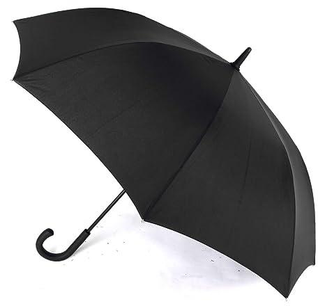 Paraguas Hombre automático. Paraguas Vogue Negro. Antiviento y con Acabado Teflón. Gran funcionalidad