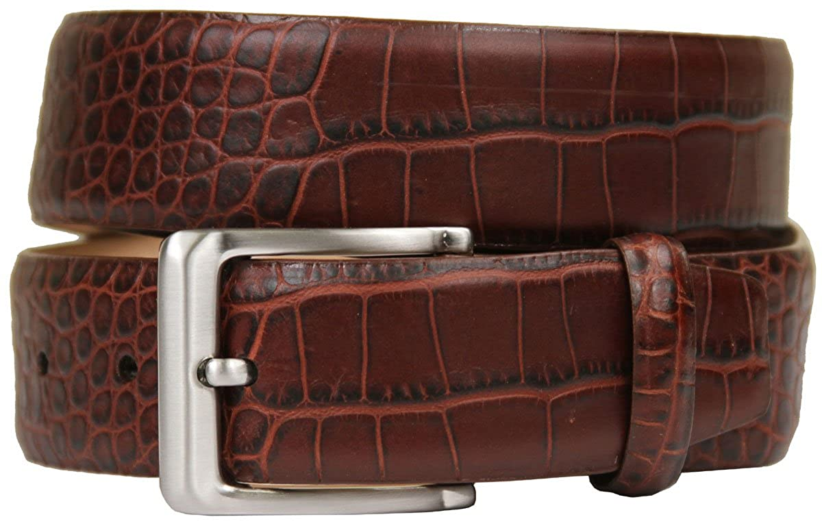 Grove Genuine Italian Leather Dress Belt