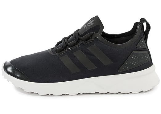 62bf3c4230e8b adidas Originals Womens ZX Flux Adv Verve Gym Shoes - Blackout - 8UK ...