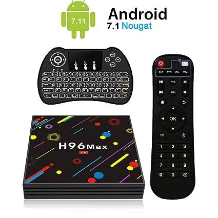 H96 Max Android 7.1 TV Box [4GB/32GB/4K] RK3328 Quad Core