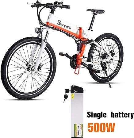 Shengmilo Bicicletas Electricas Bicicleta Plegable Montaña ...