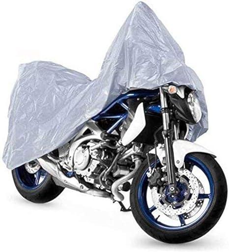 Telo Copri Moto Scooter Naked Custom Impermeabile PVC Universale Nero XL