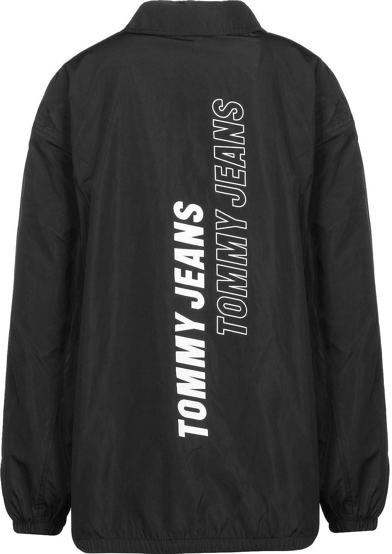 Tommy Jeans Coach W Chaqueta de entrenador negro