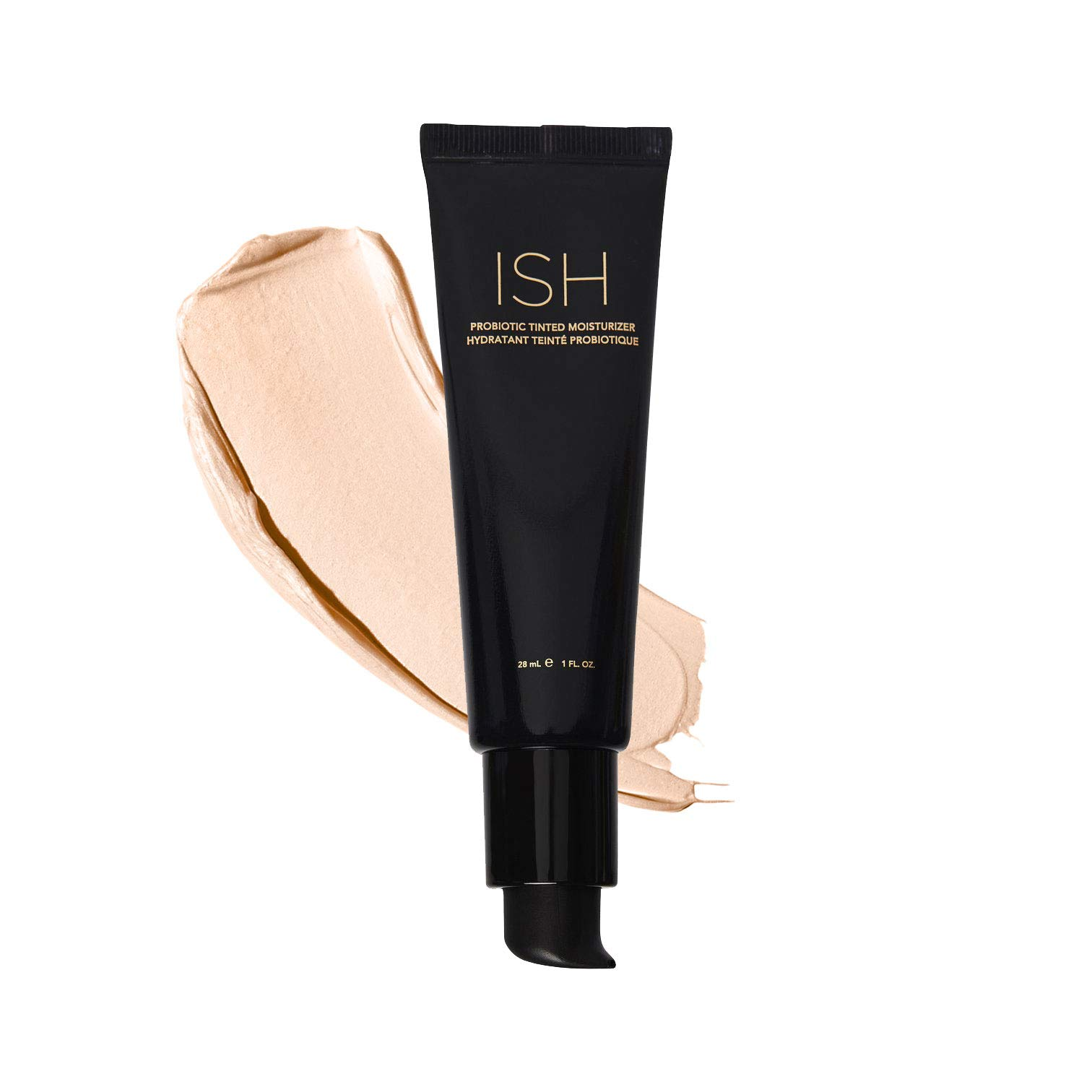 ISH Probiotic Tinted Moisturizer Skin Care (4 Shades) Cruelty Free, Paraben and Sulfate Free (Fair) by FabFitFun