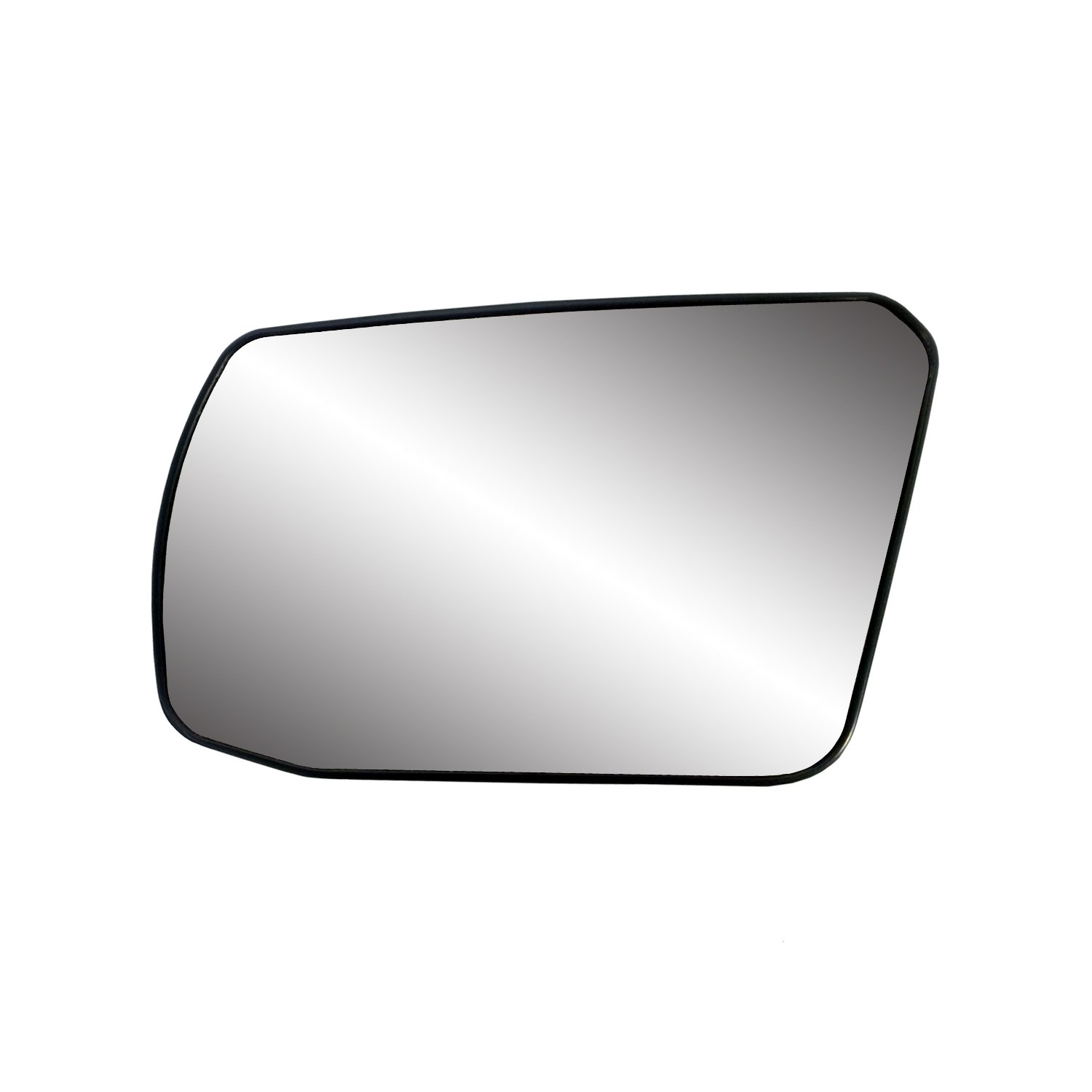 Fit System 88214 Nissan Altima 2.5L Engine Coupe//Sedan Left Side Power Non-Foldaway Replacement Mirror Glass with Backing Plate
